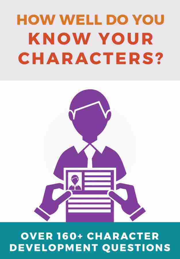 character interview questions novel writing