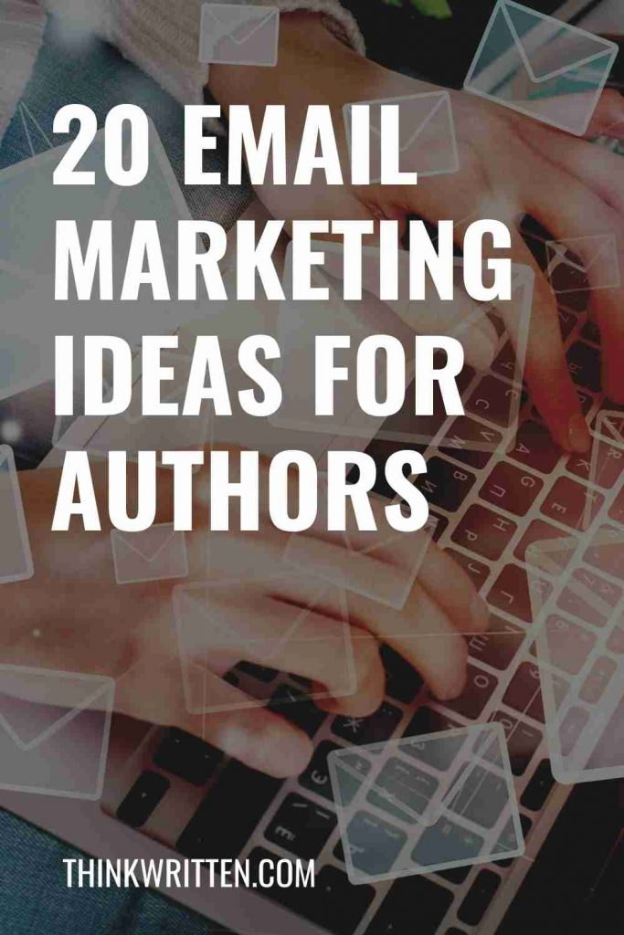 email marketing ideas for authors