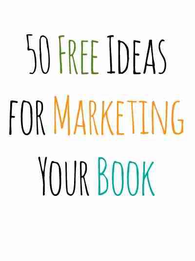 50 Free Book Marketing Ideas