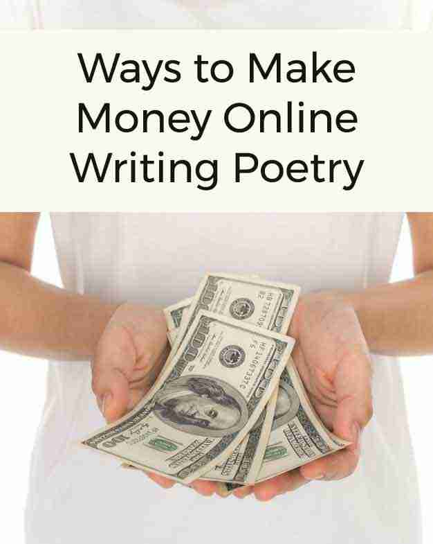 ways to make money with poetry