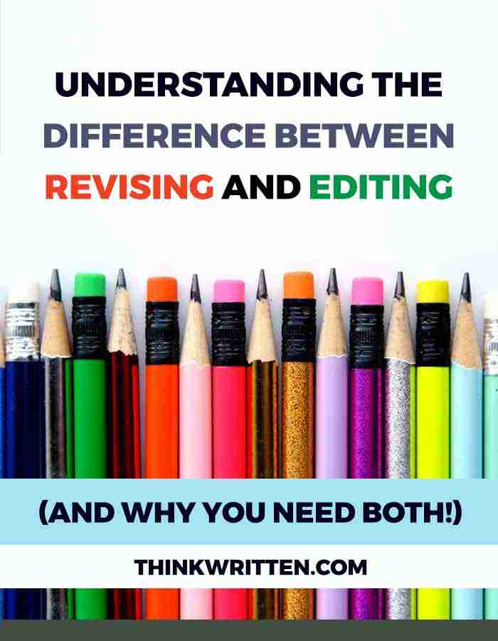 Revising and Editing Difference