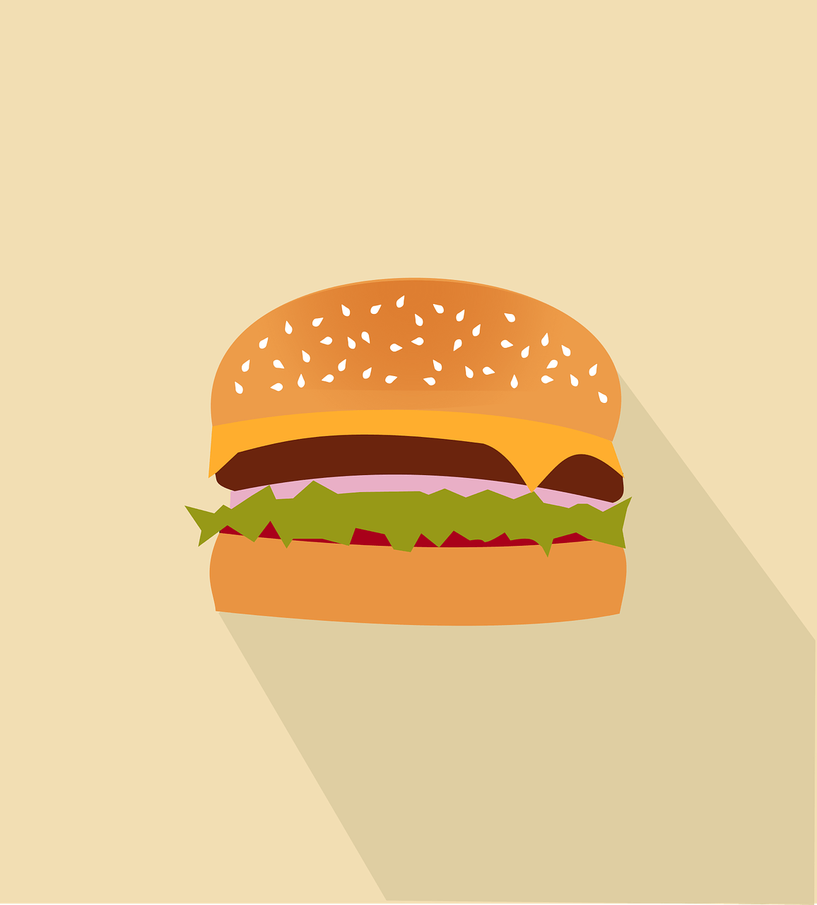 fast food writing prompt hamburger