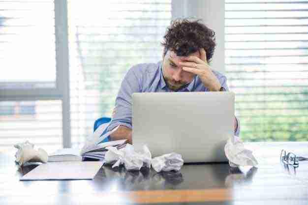 struggling writer