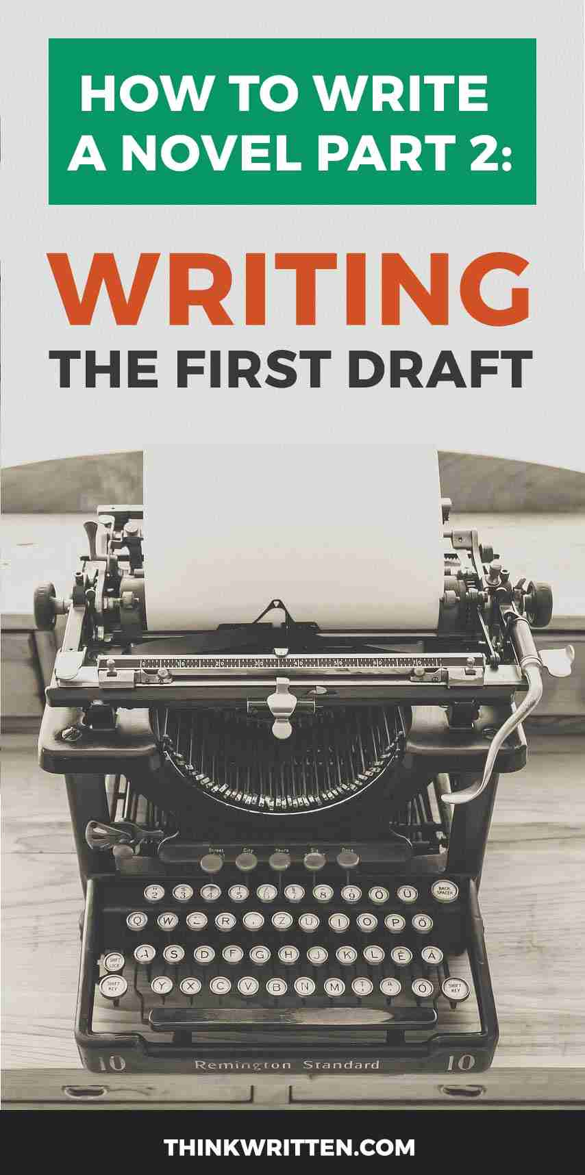 novel writing first draft
