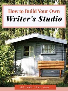 How to Build Your Own Writer's Studio + 5 Beautiful Shed Kits You Will Love