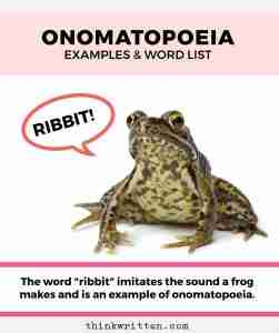 Onomatopoeia: Words List & Examples
