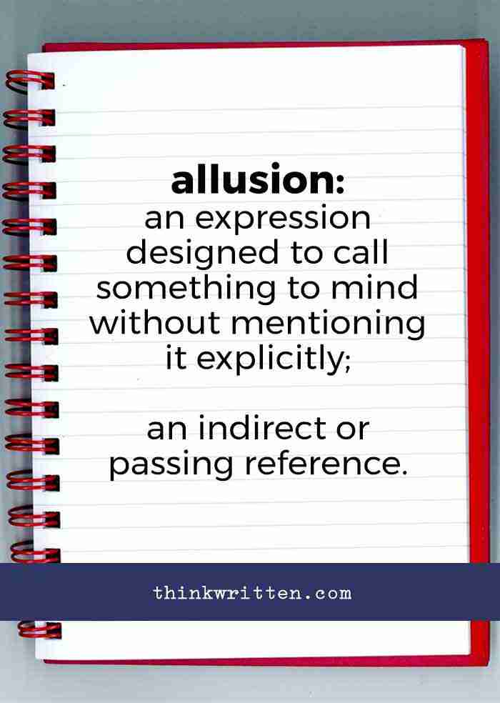 definition of allusion