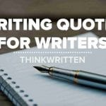writing quotes for writers