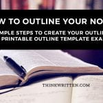 How to Outline Your Novel or Book