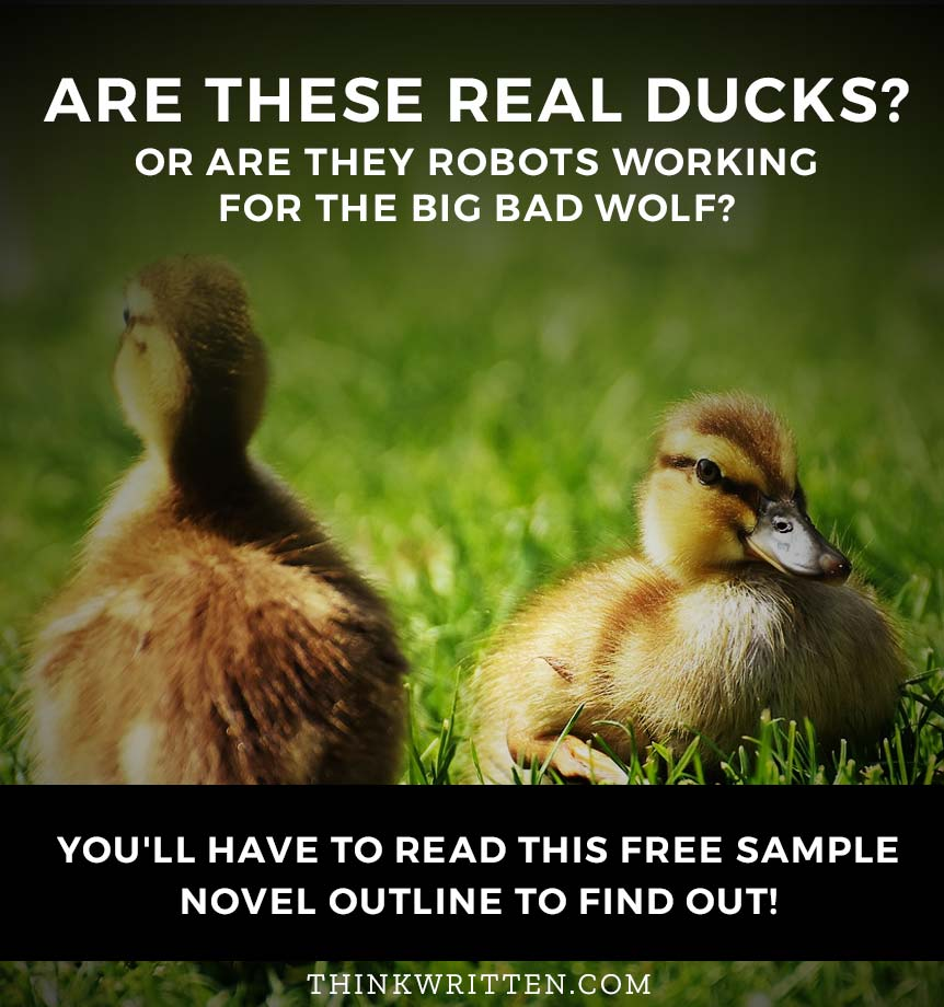 robotic ducks outline example