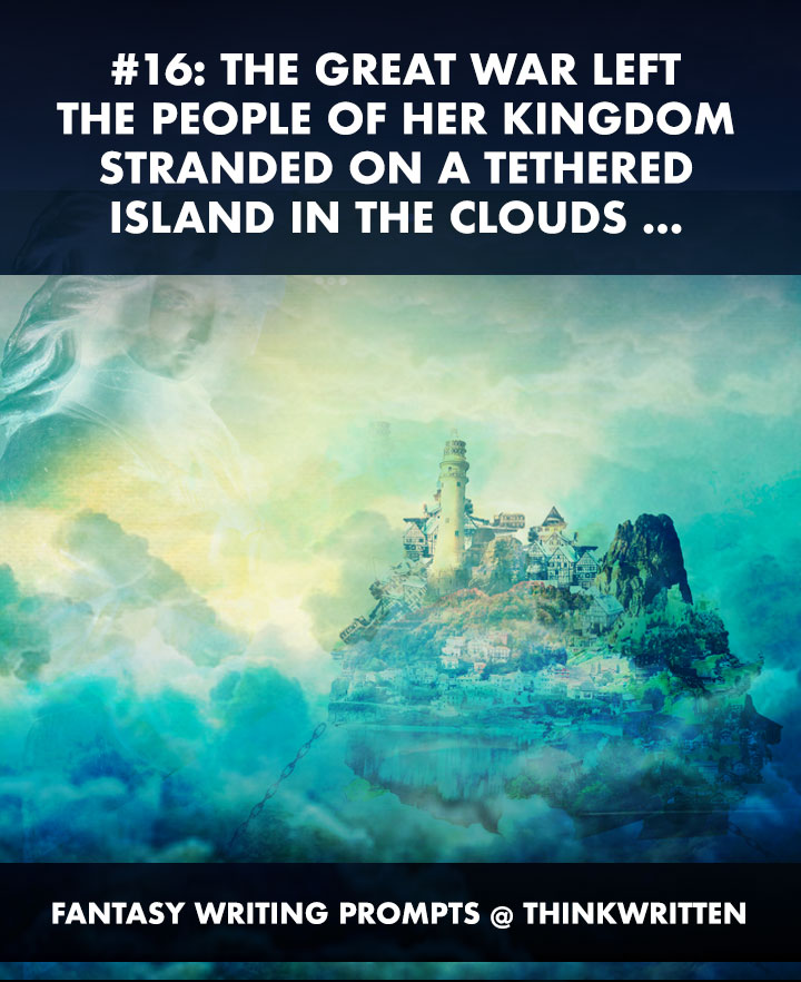 fantasy writing island queen