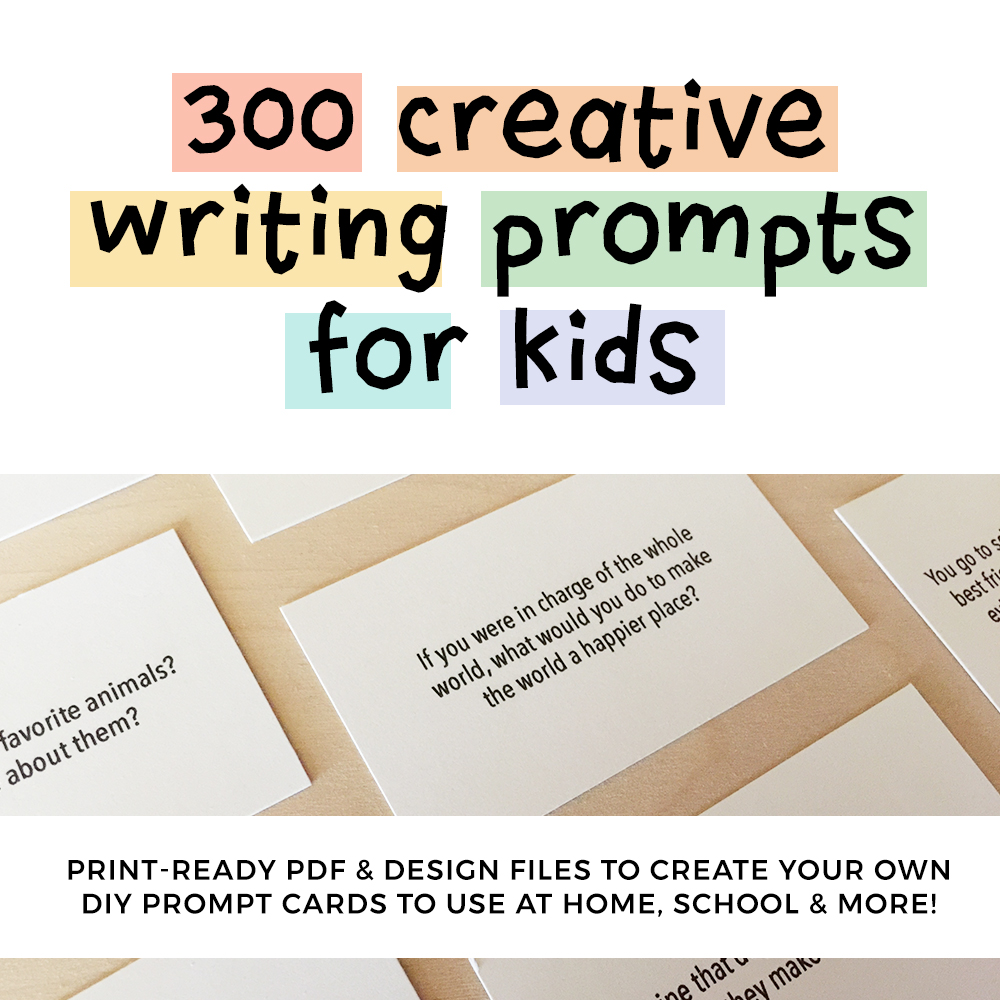 300 Creative Writing Prompts for Kids | ThinkWritten