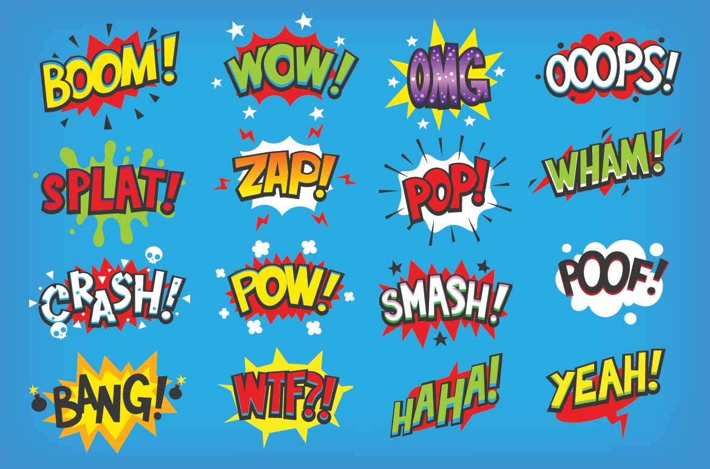 Onomatopoeia Words List Examples Thinkwritten