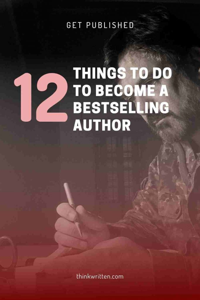 12 things to do to become a bestseller
