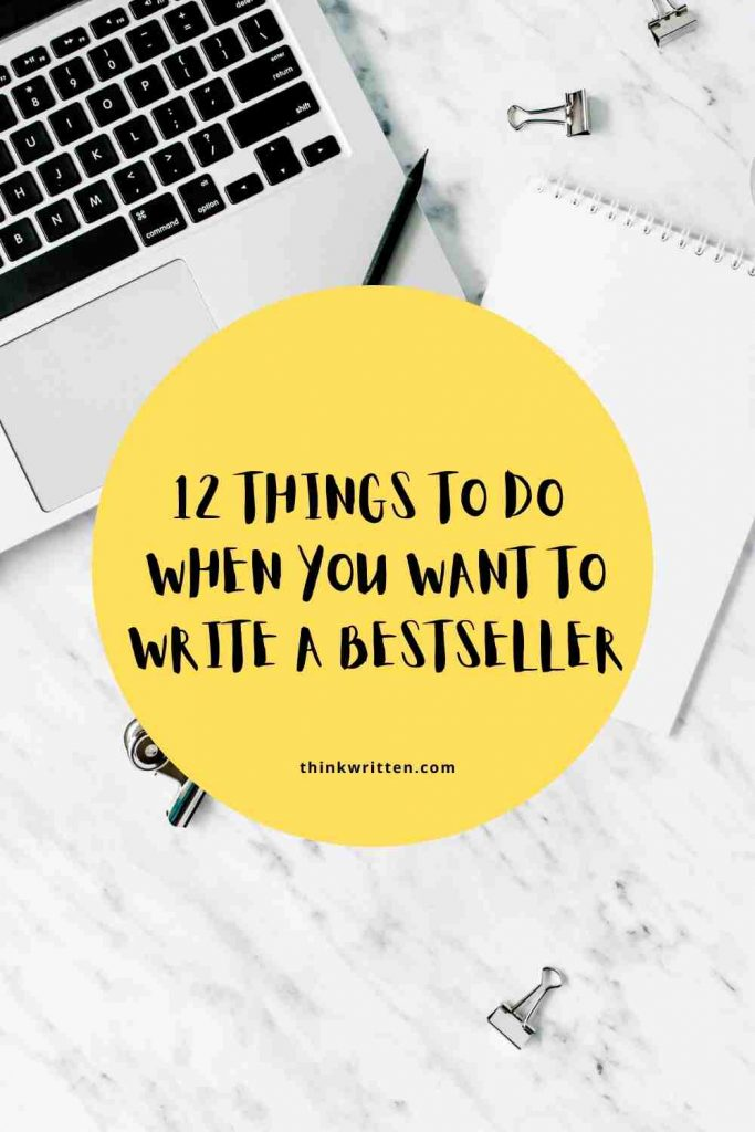 things to do to become a bestseller