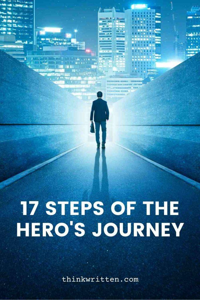 17 steps of the hero's journey