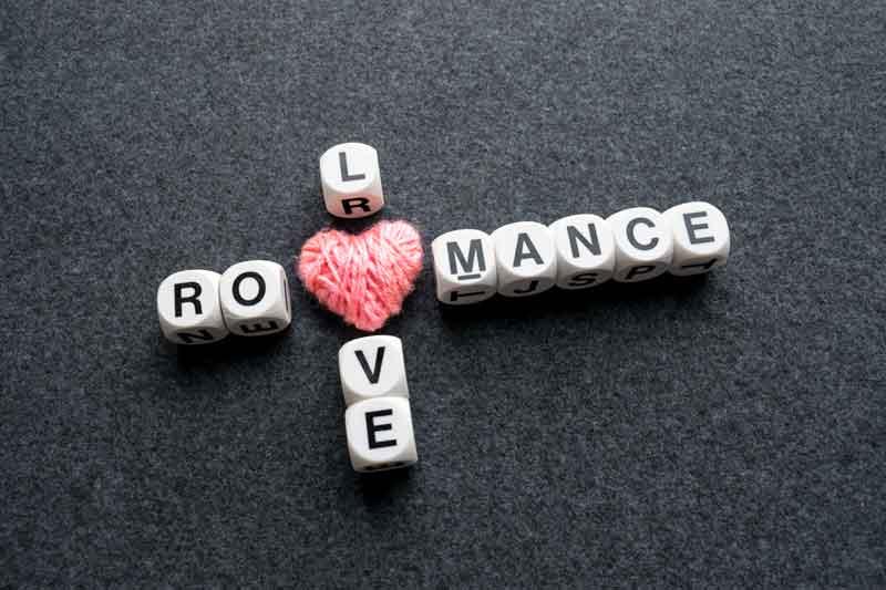 romantic crossword