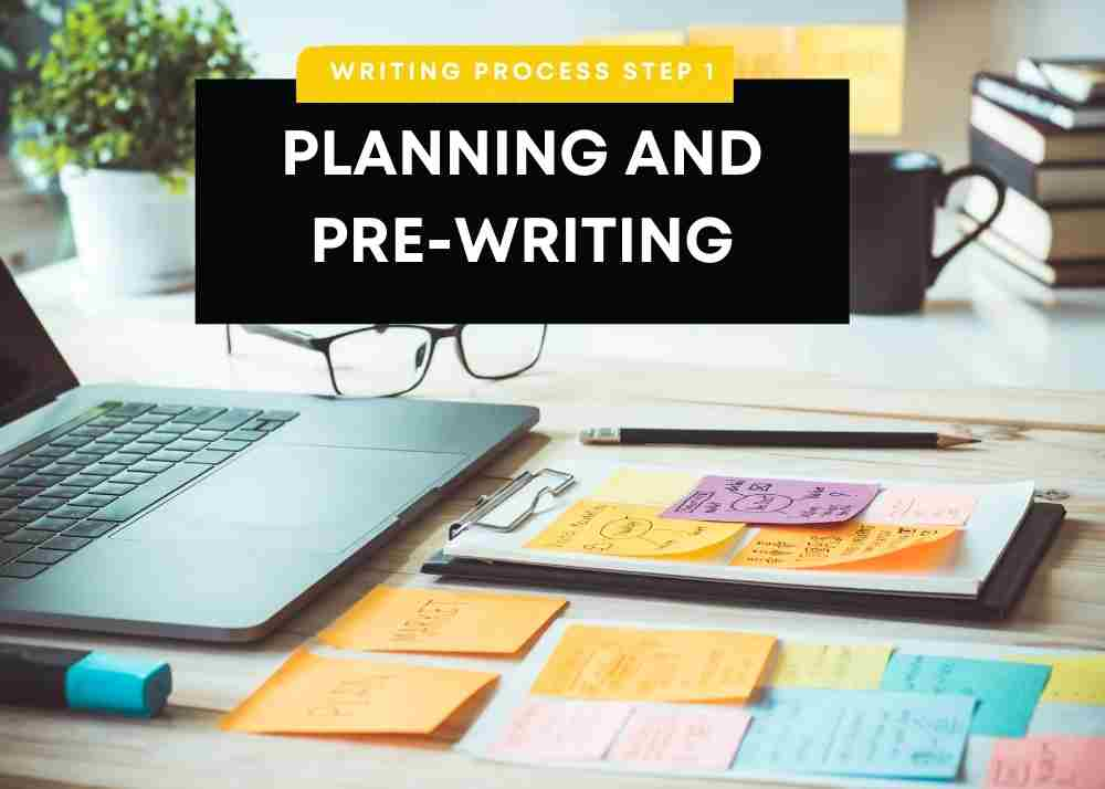prewriting and planning