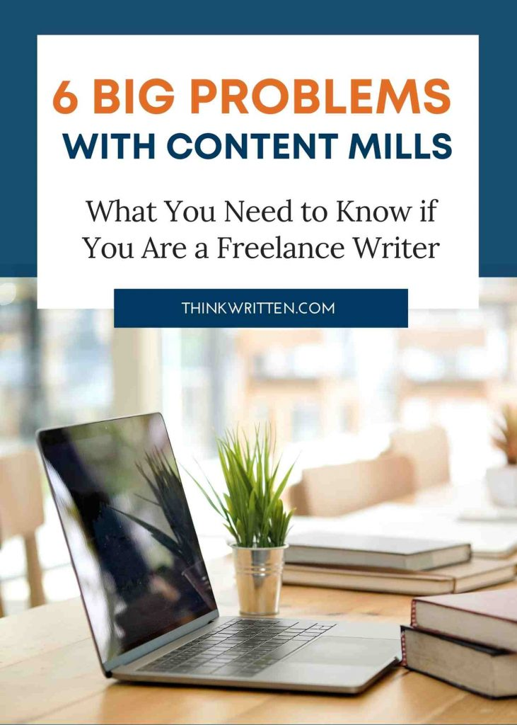 problems with content mills
