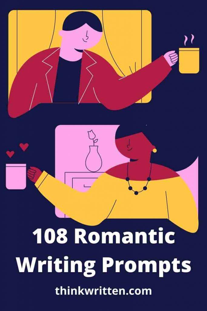 romantic writing prompt ideas