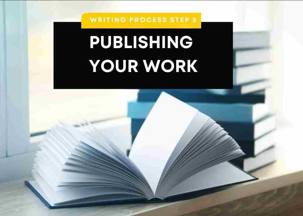step 5 - publishing